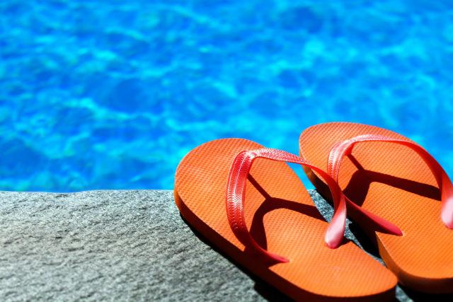 Сменная обувь для бассейна