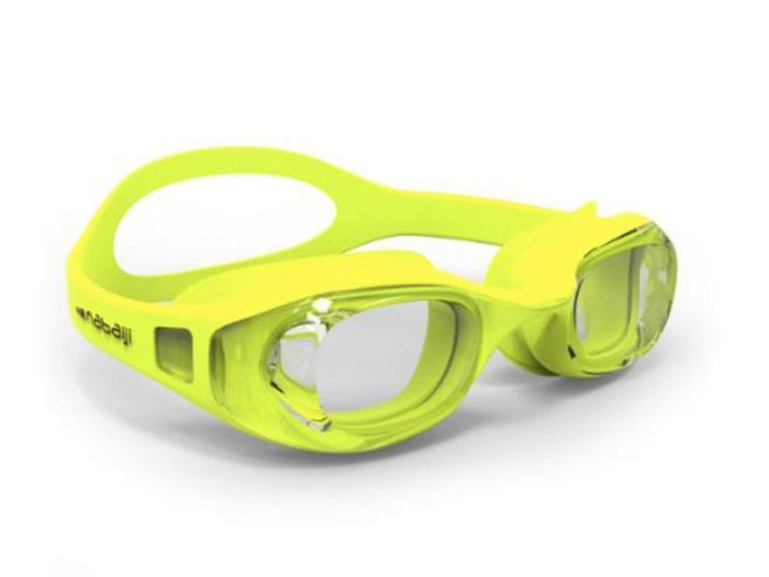Очки для плавания с прозрачными линзами