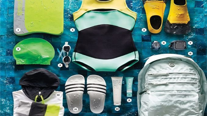 Все необходимые вещи для плавания