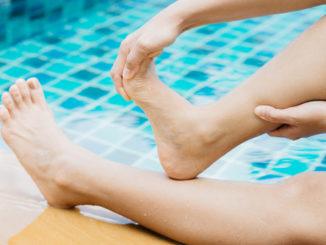 Ноги и вода