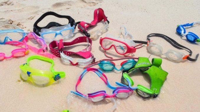 Очки для плавания на песке