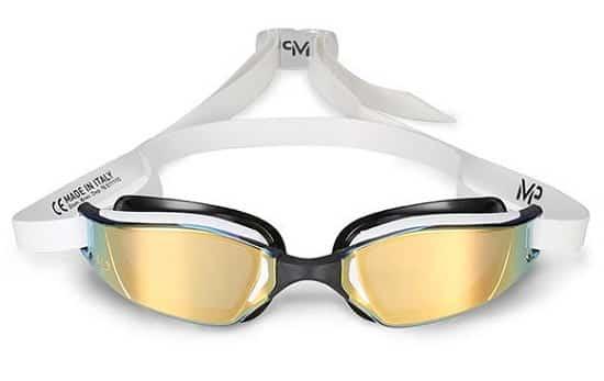 Очки для плавания с желтыми линзами