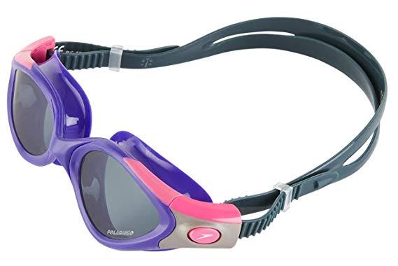 Очки с для плавания с дымчатым напылением