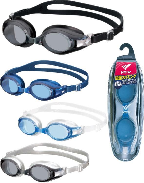 Очки для плавания японского торгового бренда Tabata